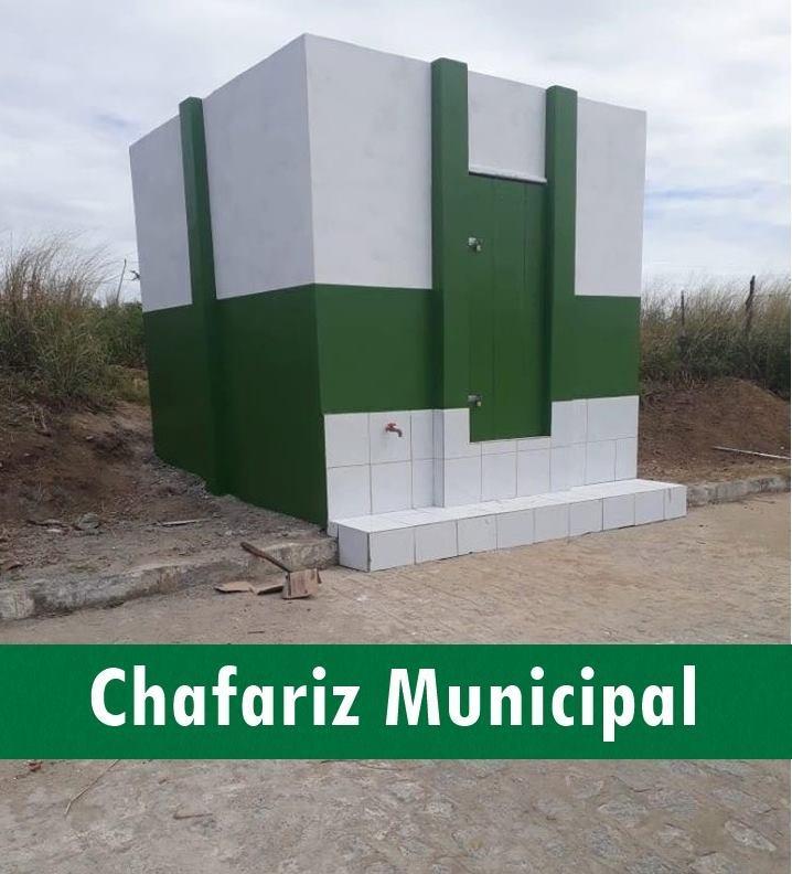 Chafariz Municipal será inaugurado no Conjunto Novo