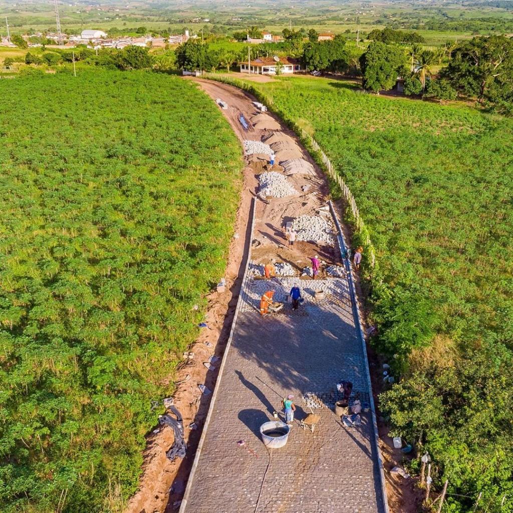 Obras de infraestrutura pela cidade mudam a realidade de São Miguel de Taipu